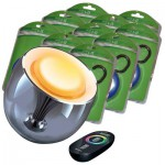 Philips Living Colors Black + 10x LED I-It Pocket Leuchte
