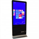 CLE Stand-Touch-Display Pro II 55 Zoll Mega Smart-Phone look Touchscreen
