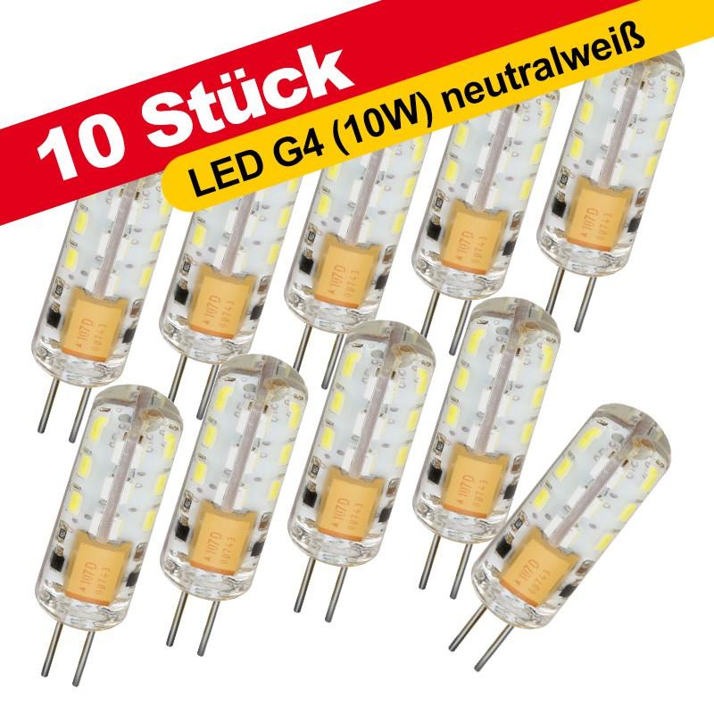 10 st ck cle led stiftsockellampe 1 5w 10w halogen 120lm g4 12v ac neutralwei 4000 4500k. Black Bedroom Furniture Sets. Home Design Ideas