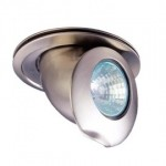 CLE LED / Halogen Einbauleuchte  MR16CH max. 50W nickel