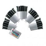 CLE 5x LED RGB System 5W GX5,3 12V  m 1 Fernbedienung