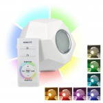 CLE Living COLORS EMOTION LIGHTS LED 2,5W  RGB weiss mit Fernbedienung