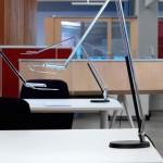 Belux Lifto FIX Rundfuss schwarz für Tischleuchte