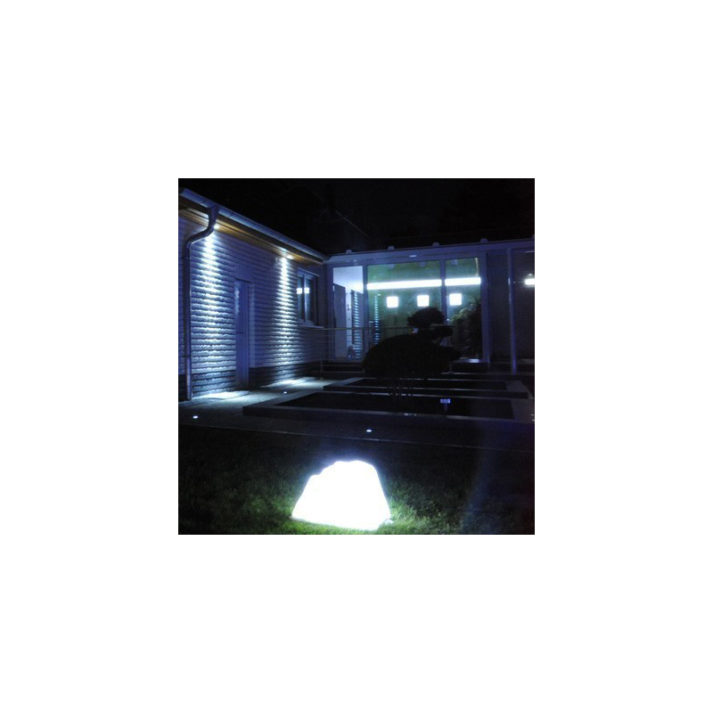 cle led maxi aussenstrahler scheinwerfer 100w 3000k grau cardanlight europe scheinwerfer. Black Bedroom Furniture Sets. Home Design Ideas