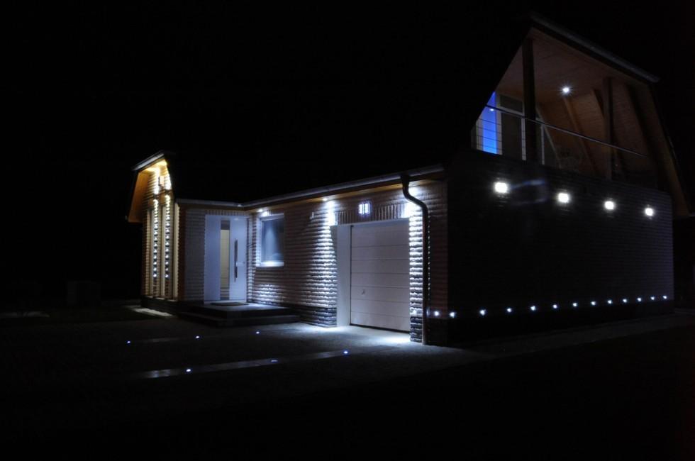 cle led aussenstrahler scheinwerfer mit bewegungsmelder. Black Bedroom Furniture Sets. Home Design Ideas