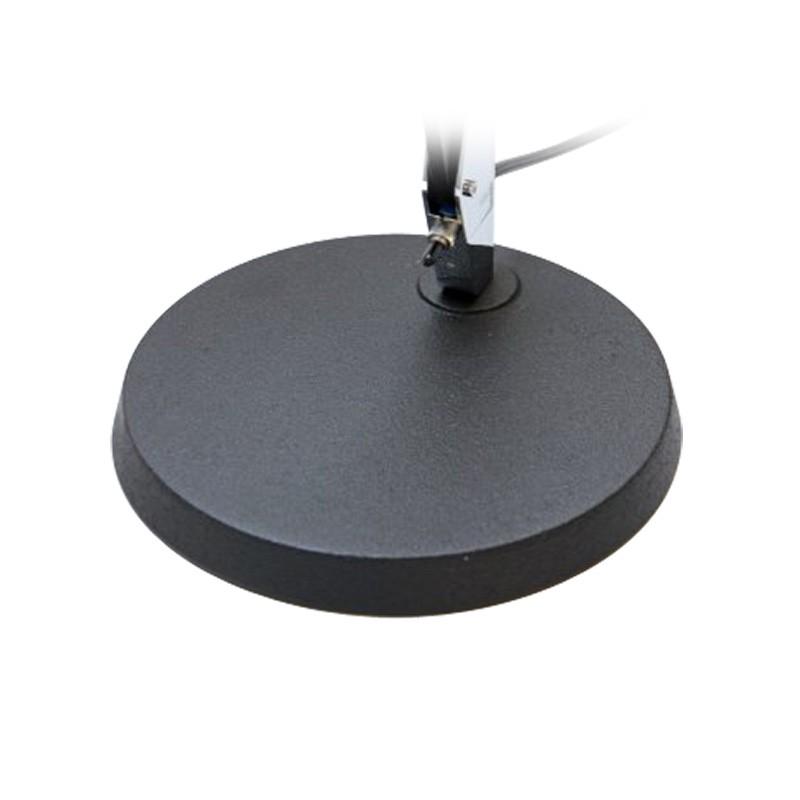 belux lifto fix rundfuss schwarz f r tischleuchte design klassiker. Black Bedroom Furniture Sets. Home Design Ideas