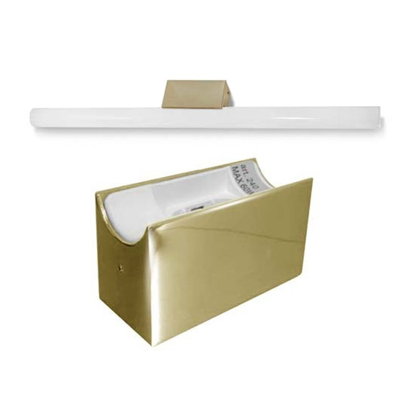 led alutec lin spiegelleuchte linestra incl led. Black Bedroom Furniture Sets. Home Design Ideas