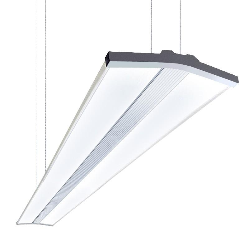 cle d wing panel h ngeleuchte mit led modul 50w 4200lm 4000k neutralwei h ngeleuchten. Black Bedroom Furniture Sets. Home Design Ideas